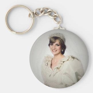 Porte-clés Portrait de mariage de princesse Diana