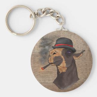Porte-clés Portrait d'un lama de drame - porte - clé