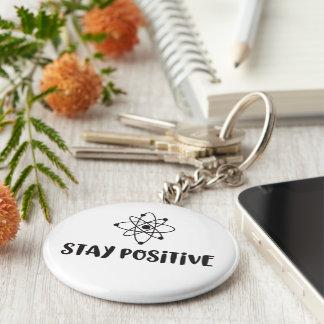 Porte-clés Positivité scientifique drôle positive de séjour