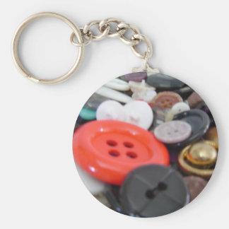 Porte-clés Pot de bouton de grand-mamans