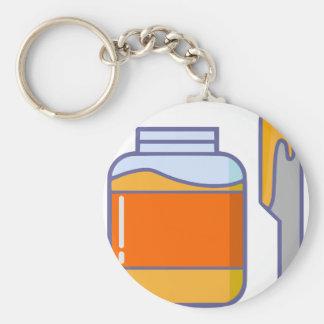 Porte-clés Pot de miel