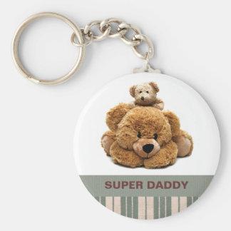 Porte-clés Pour le père sur des porte - clés de cadeau de