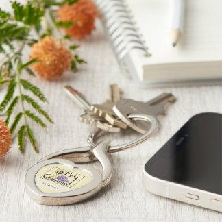 Porte-clés Premiers raisins et tasse de communion,