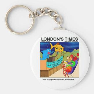 Porte-clés Près des cadeaux et du tee - shirt drôles de pêche