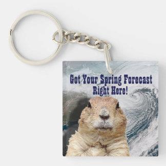 Porte-clés Prévision de ressort de Groundhog