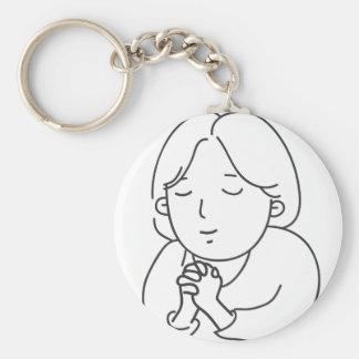 Porte-clés Prière