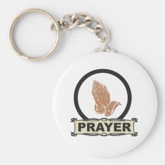 Porte-clés Prière simple