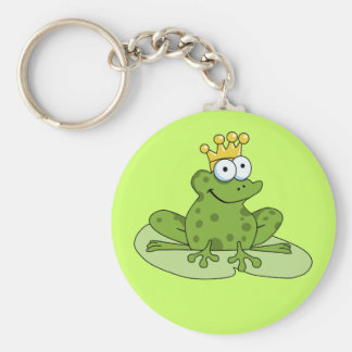 Porte-clés Prince Keychain de grenouille