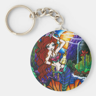 Porte-clés Princesse Fairy Mermaid Cockatoo Fantasy de Maui