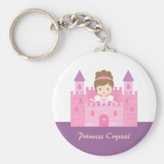 Porte-clés Princesse mignonne Girl dans le conte de fées rose