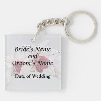 Porte-clés Produits baltiques de mariage de visage de tache
