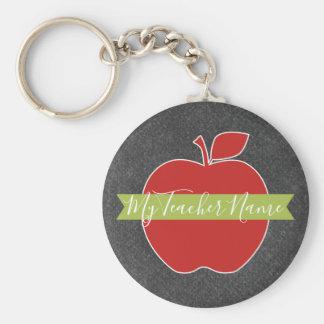 Porte-clés Professeur fait sur commande Apple - police