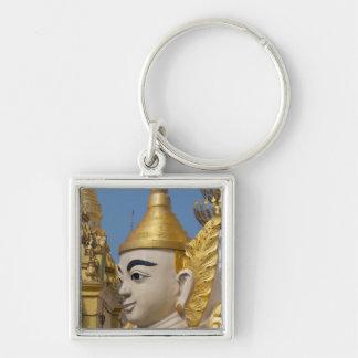 Porte-clés Profil de statue de Bouddha