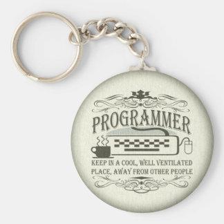 Porte-clés Programmeur drôle