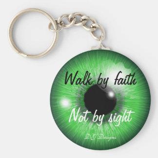 Porte-clés Promenade par la foi