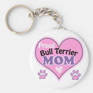 Porte-clés Proud bull terrier Mom