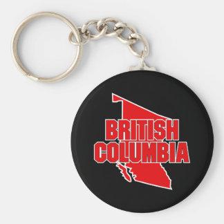 Porte-clés Province de Colombie-Britannique