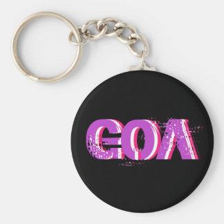 Porte-clés psychédélique goa 2