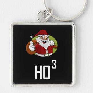 Porte-clés Puissance de Père Noël Ho3 de 3 cubée