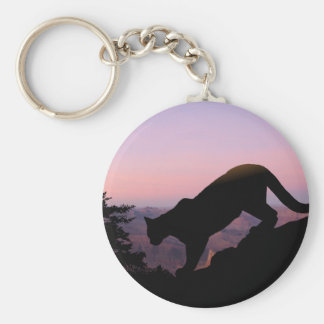 Porte-clés Puma et le canyon grand