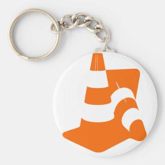 Porte-clés Pylônes de sécurité du cône deux du trafic