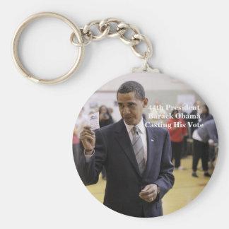 Porte-clés quarante-quatrième Le Président Barack Obama