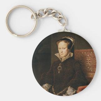 Porte-clés Queen Mary I de l'Angleterre Maria Tudor par MOR