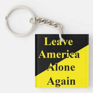 Porte-clés Quittez à l'Amérique le seul encore porte - clé