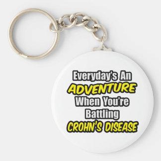 Porte-clés Quotidien une maladie de Crohn d'aventure…