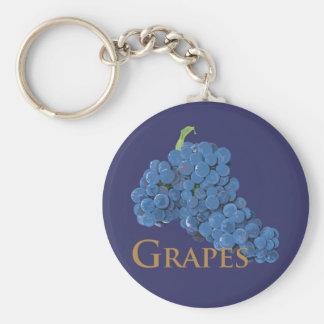 Porte-clés Raisins de vin rouge