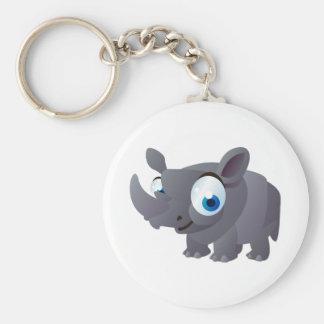 Porte-clés Ralphie le rhinocéros