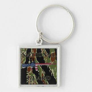 Porte-clés Rayure de tigre de porte - clé de la garde