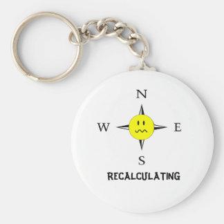 Porte-clés Recalcul du porte - clé de navigation