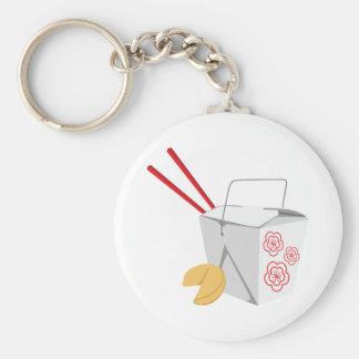 Porte-clés Récipient de nourriture chinois