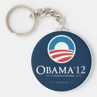 Porte-clés Réélisez le porte - clé 2012 du Président Barack