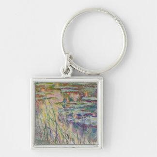 Porte-clés Réflexions de Claude Monet   sur l'eau, 1917