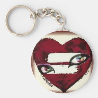 Porte-clés Regard par les yeux d'un porte - clé lesbien