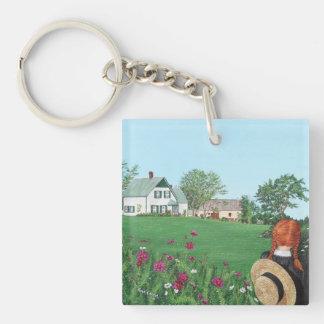 Porte-clés Regardant dessus avec amour, Anne des pignons