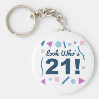 Porte-clés Regardez qui est 21