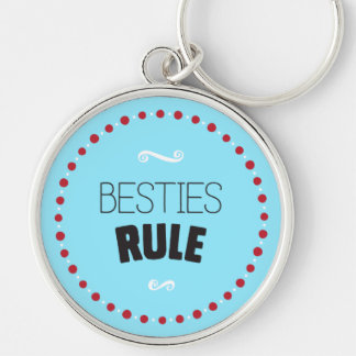 Porte-clés Règle de Besties - bleu