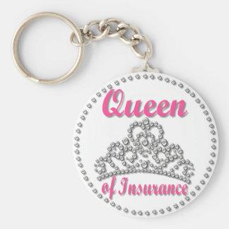 Porte-clés Reine d'assurance