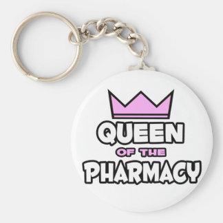 Porte-clés Reine de la pharmacie