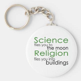 Porte-clés Religion et la Science