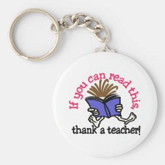 Porte-clés Remerciez un professeur
