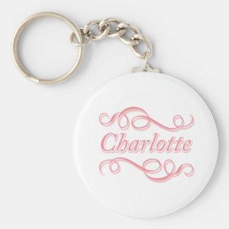 Porte-clés Remous rose Charlotte