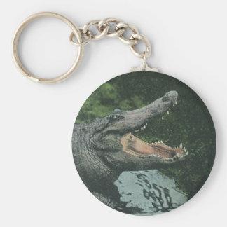 Porte-clés Reptiles vintages de crocodile, faune marine