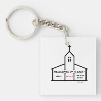 Porte-clés Résidents d'un porte - clé de saint