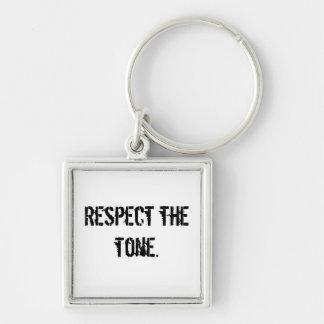 Porte-clés Respectez le porte - clé de ton