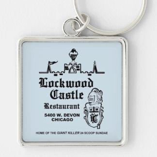 Porte-clés Restaurant de château de Lockwood, Chicago, IL