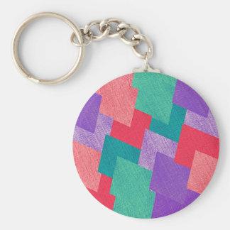 Porte-clés Résumé géométrique